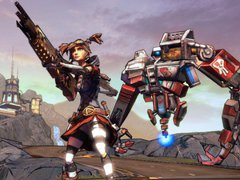 Gaige with gun and Deathtrap