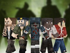 L4D and hunter minecraft render