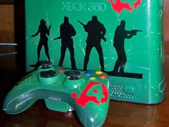 Modified Xbox with L4D decals